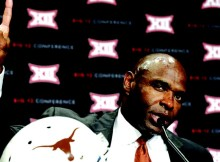 UT Head Coach Charlie Strong- AP Photo
