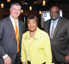 Dallas Mayor Mike Rawlings, Congresswomen Eddie Bernice Johnson and Al Davis