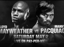 Floyd Mayweather Jr vs Manny Pacquiao
