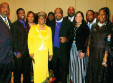 Bishop Nathiel D'Anthony David Wells and family