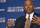 BEN CARSON BACKS DONALD TRUMP