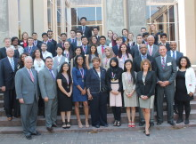 Congresswoman Johnson with the award recipients and sponsors from Saturday's, Congressional Award Statewide Ceremony
