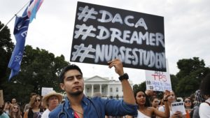 Image result for President trump announces end to DACA